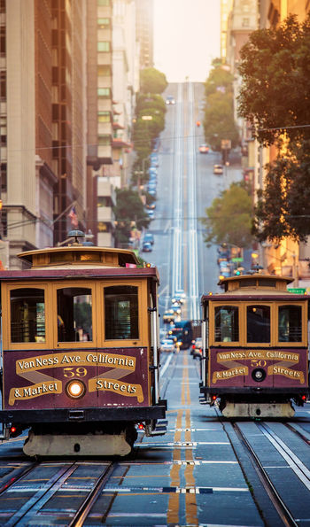 Trams in San Francisco