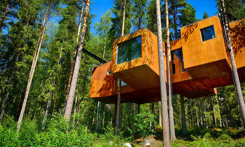 Treehotel, Swedish Lapland
