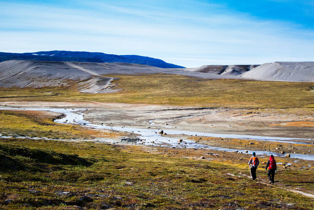 Trekking near Ilimanaq Lodge