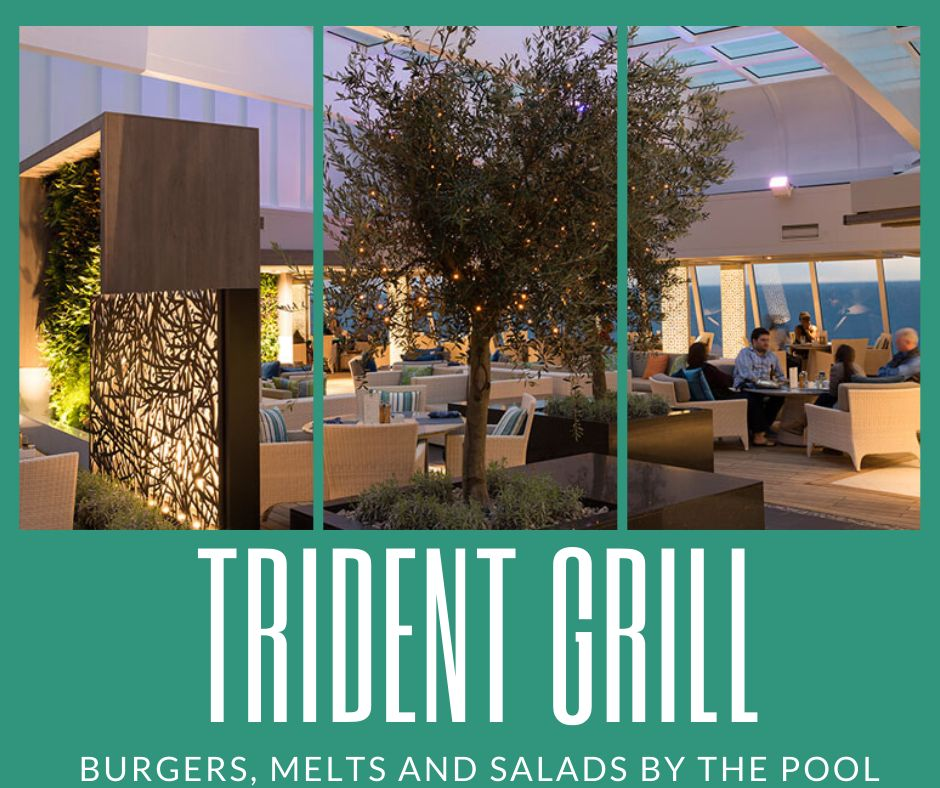 Trident Grill on Crystal Cruises