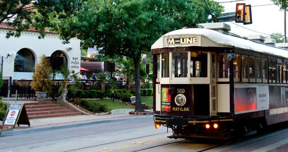 Trolley, Dallas (Credit: Clay Coleman)