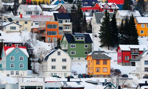 Tromso Hillside, Norway