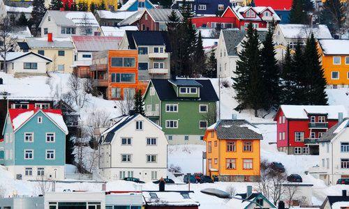 Tromso Hillside, Norway