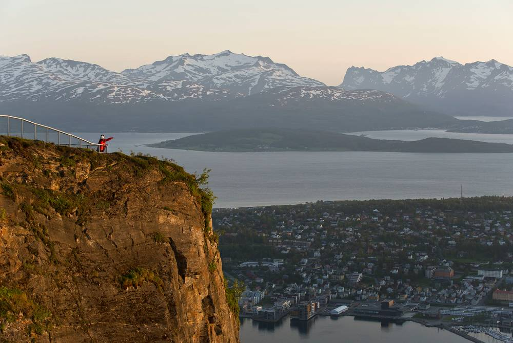 Mountain views, Tromso, Norway