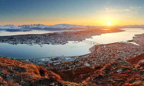 Tromso in the Midnight Sun