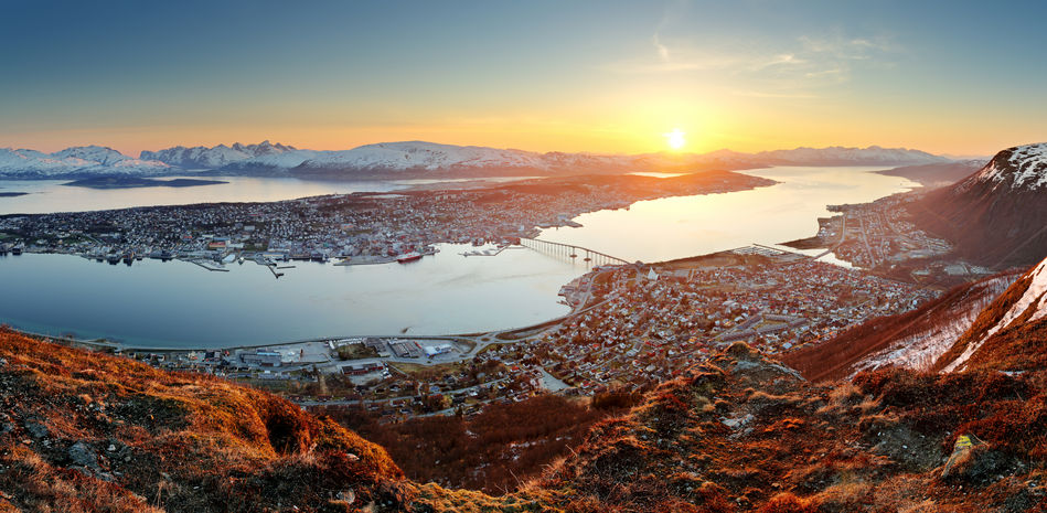 Tromso holiday in summer Norway