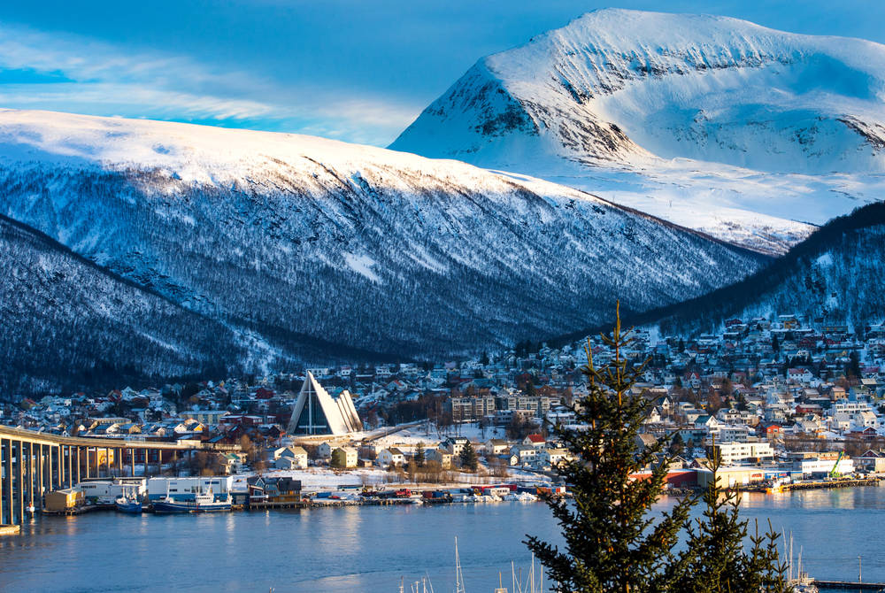 Tromso in winter