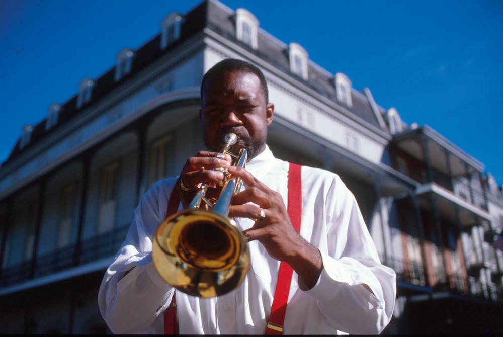 Trumpeter, New Orleans, Louisiana