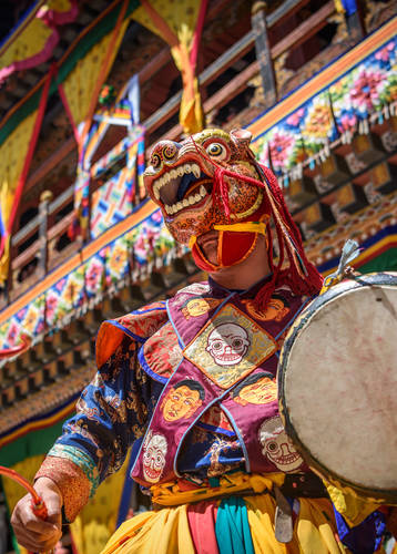 Tshechu festival, Bhutan