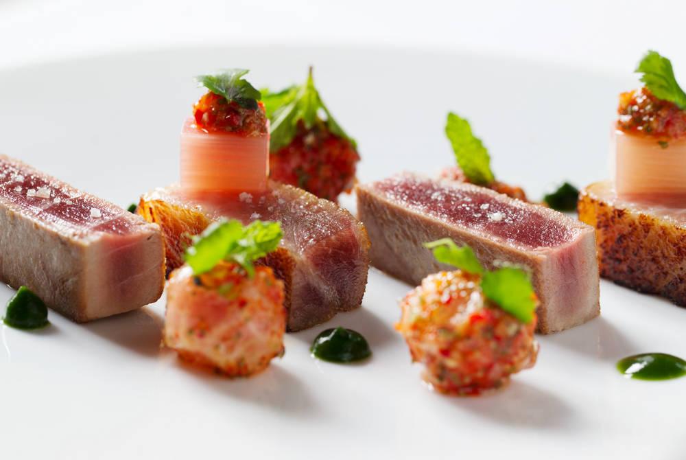 Michelin-starred dining at La Réserve
