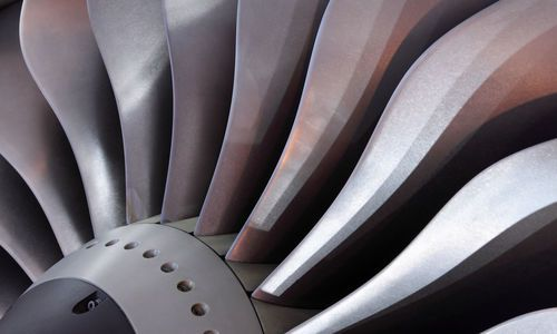 Turbine of Jet Engine