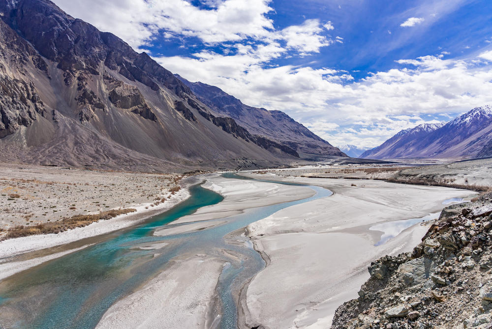 Turtuk Valley and the Shyok River