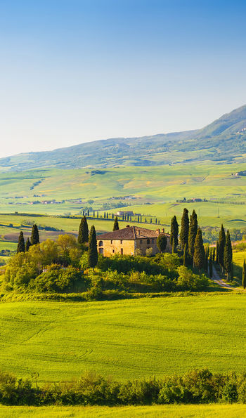 Countryside views in Tuscany, Italy