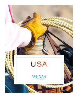 Cover for brochure USA