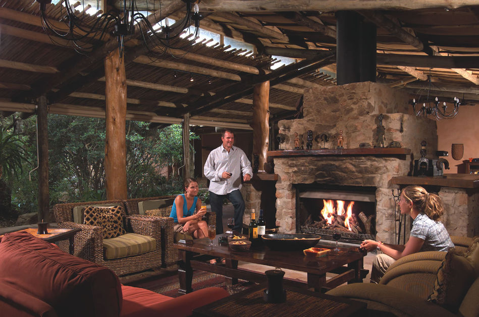 Ukhozi Lodge of Kariega Game Reserve in South Africa's Eastern Cape