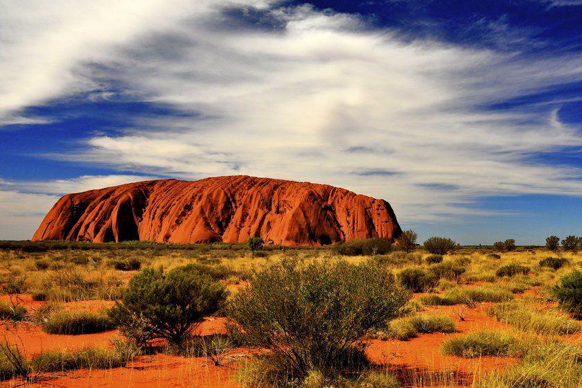 Uluru, Red Centre