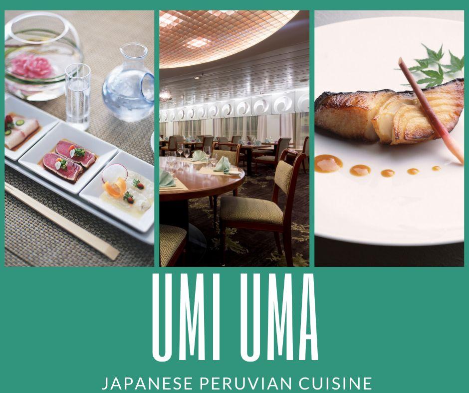 Umi Uma Restaurant on Crystal Cruises