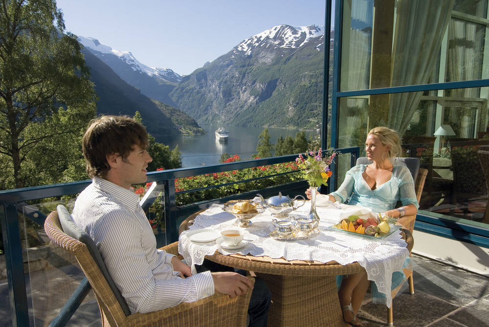 Complimentary dining, Union Hotel Geiranger