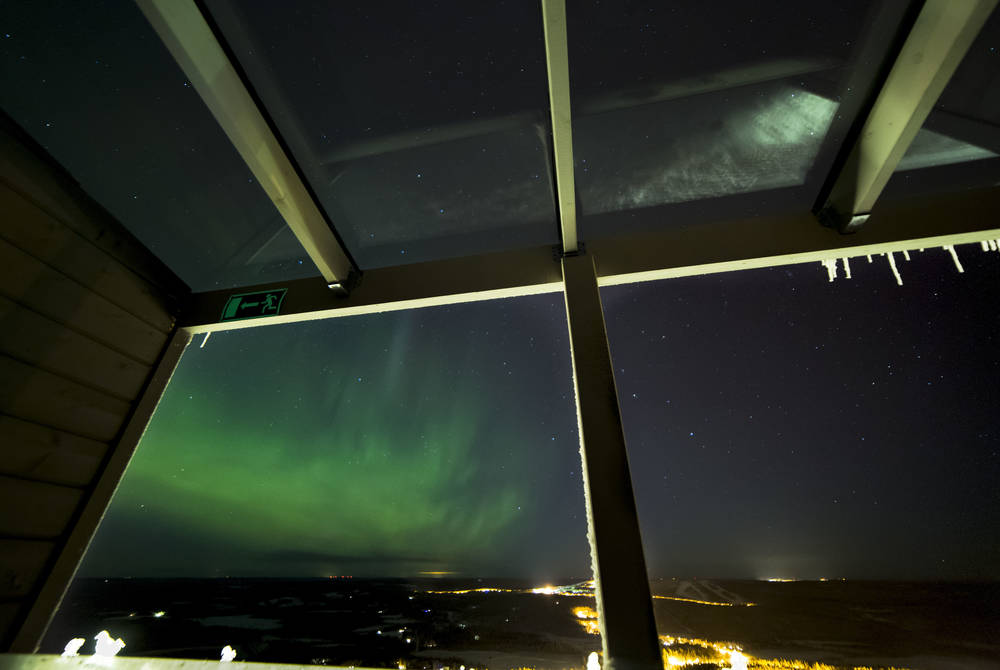 Northern Lights, Aurora View Suite, Iso-Syote, Finland