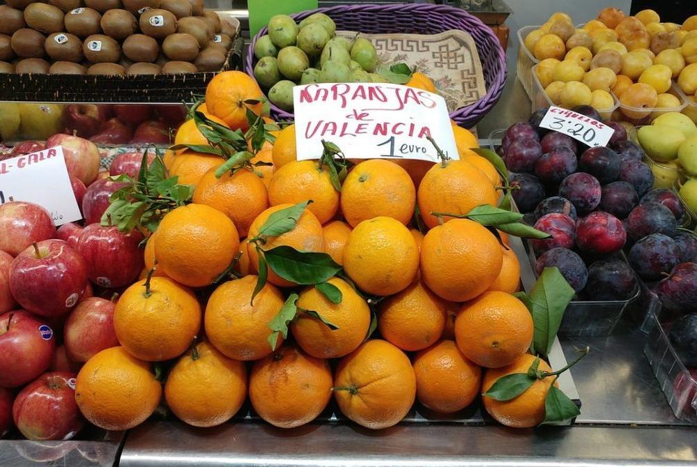 Valencia Fruit market