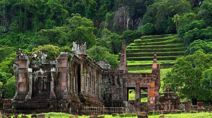 Vat Phou or Wat Phu, Southern Laos, Laos