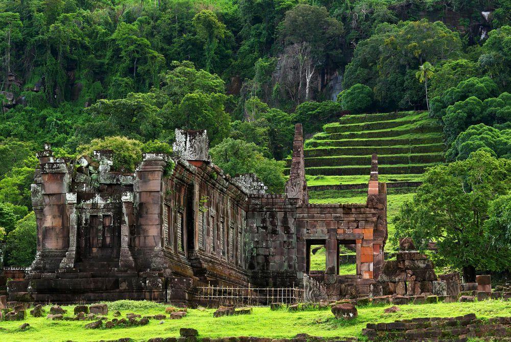 Vat Phou, Southern Laos, Laos
