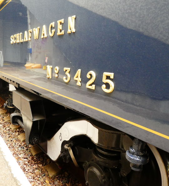 Sleeping carriage, Venice Simplon-Orient-Express