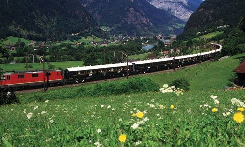 Picture of Venice Simplon-Orient-Express and Silversea Cruise