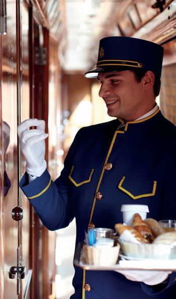 White-glove service aboard the Venice Simplon-Orient-Express