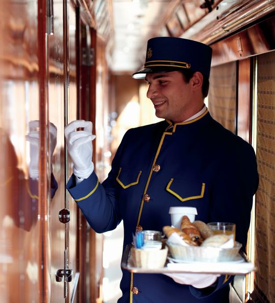 Breakfast, Venice Simplon-Orient-Express