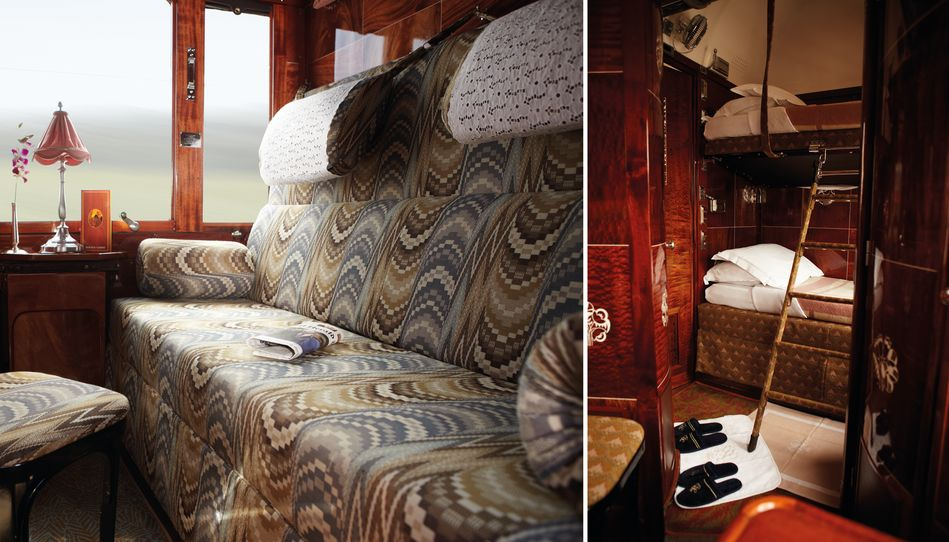 Twin cabin on board Venice Simplon-Orient-Express