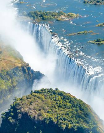 Victoria Falls in Zambia/Zimbabwe