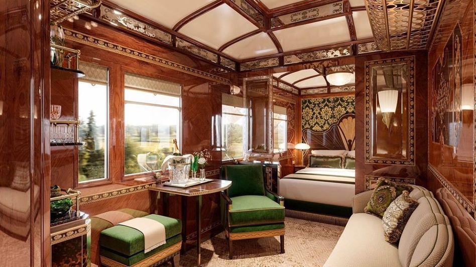 Vienna Suite onboard the Venice Simplon-Orient-Express