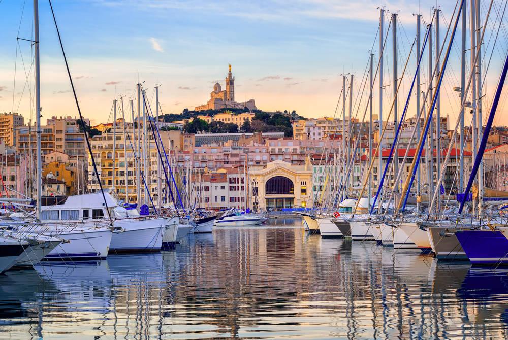 Port of Marseilles, France