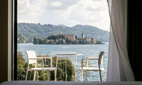 View, Casa Fantini, pella, italy