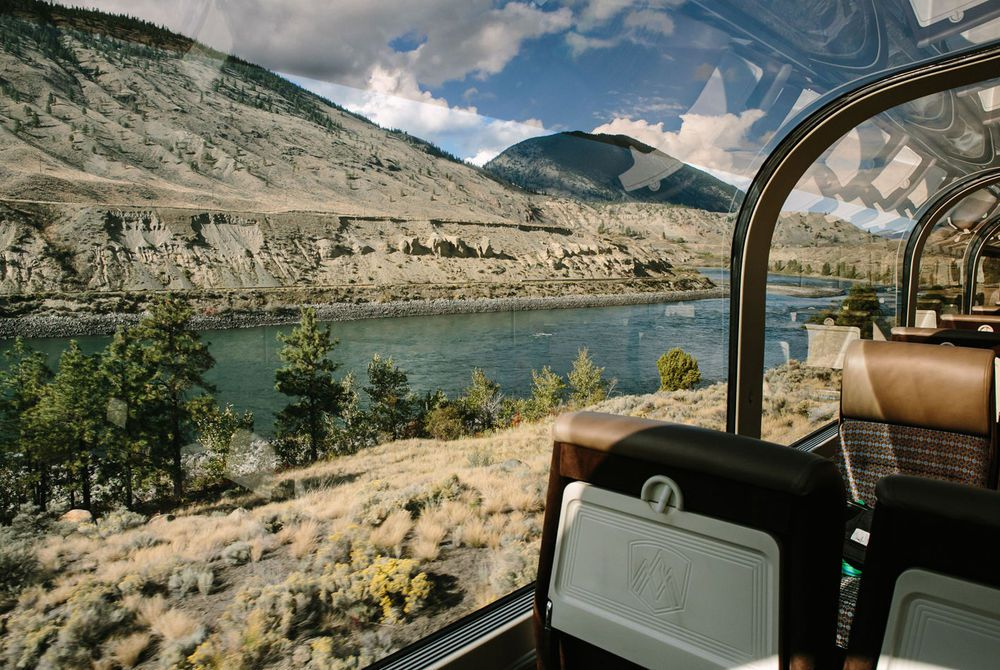 View from Gold Leaf - Rocky Mountaineer