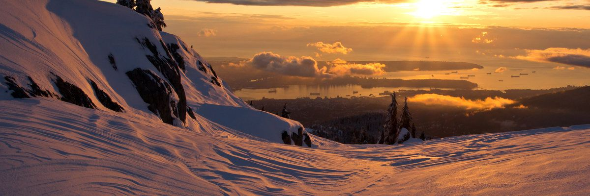View from Mt. Seymour, Vancouver, Canada