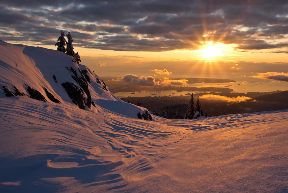 View from Mt. Seymour, Vancouver
