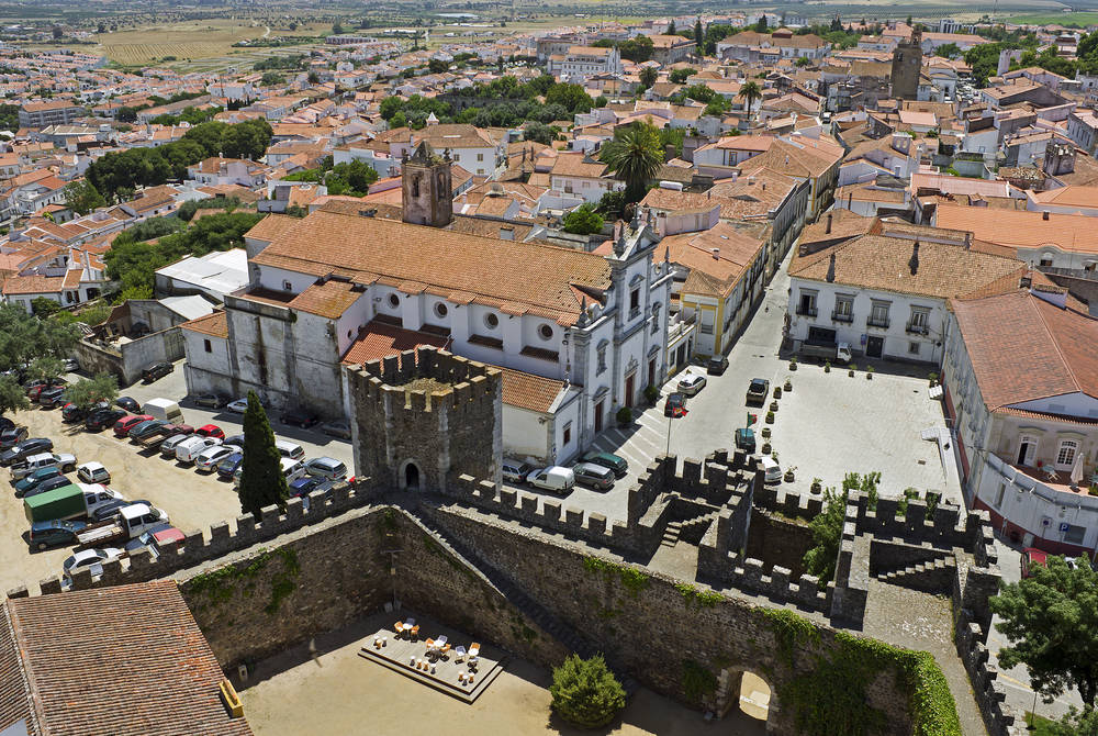 View of Beja, Portugal