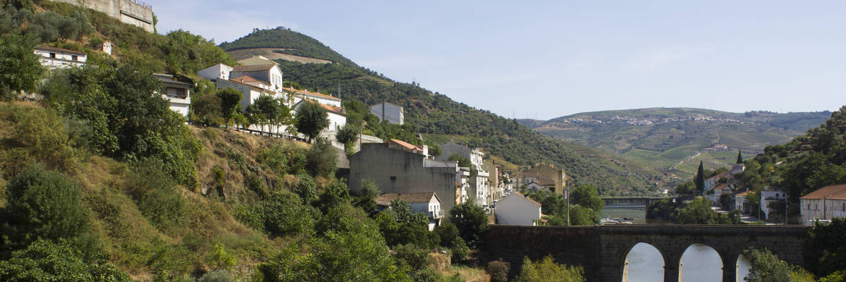 View of Pinhao, Portugal