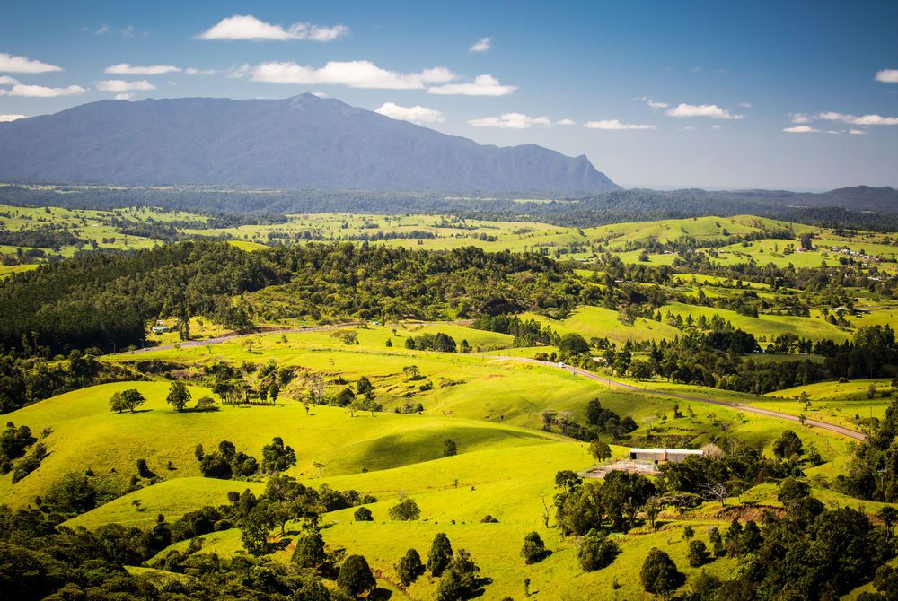 Viewpoint near Millaa Millaa, Atherton Tablelands, Queensland