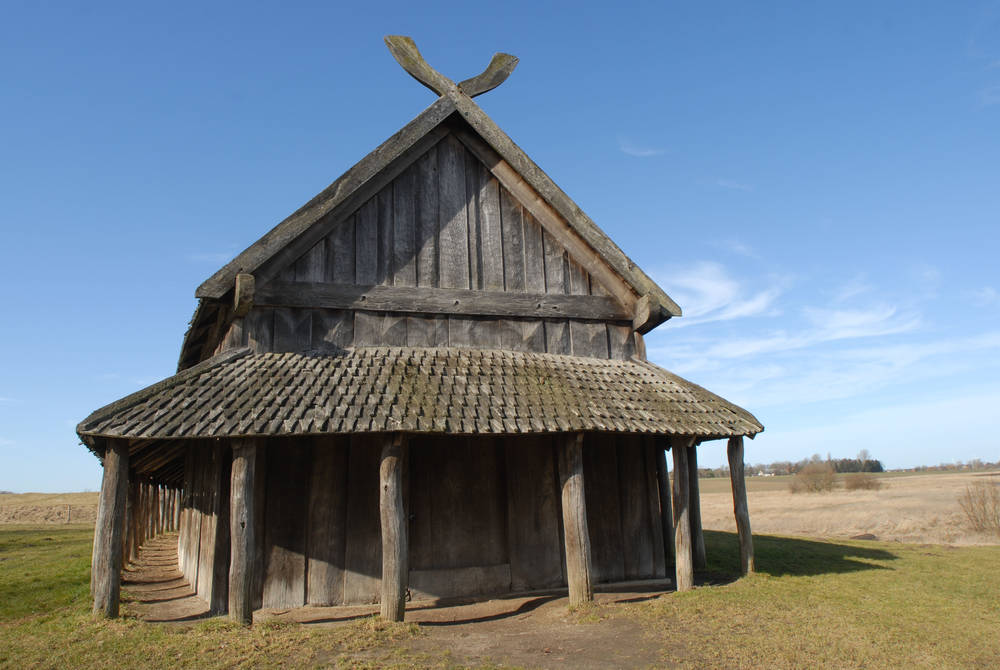 Viking longhouse, Trelleborg