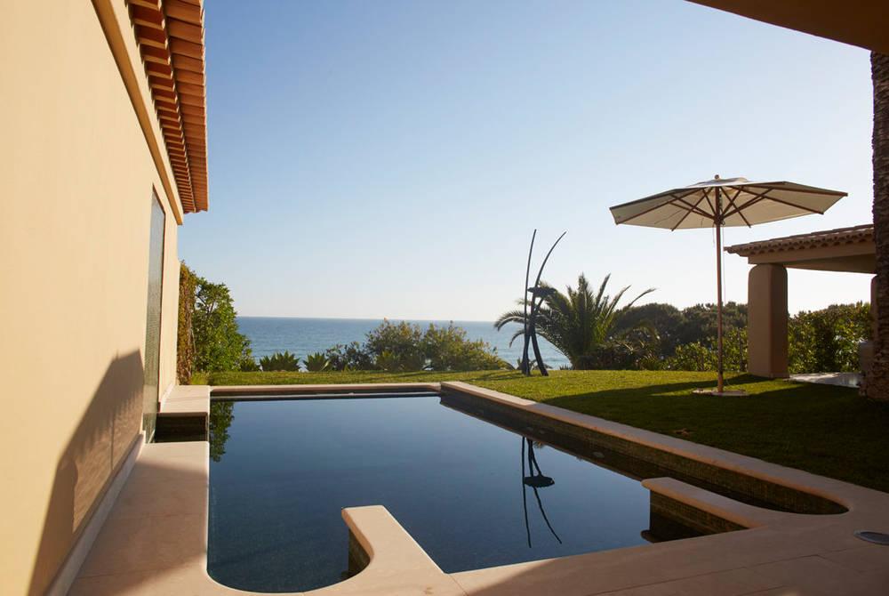 Private pool suite at Vila Joya, Algarve