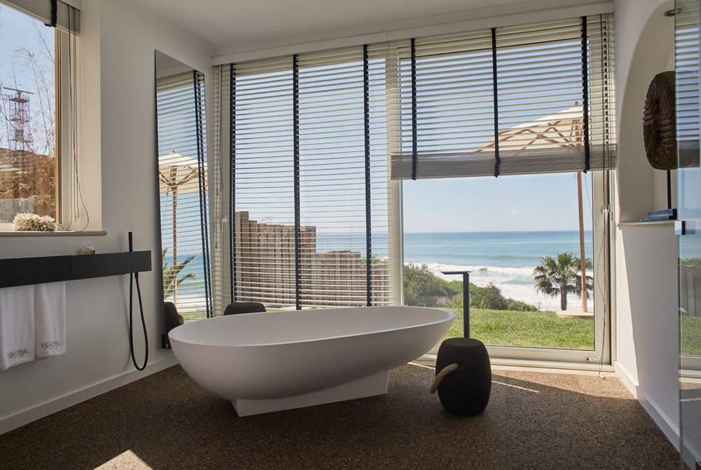 Suite bathroom at Vila Joya, Algarve