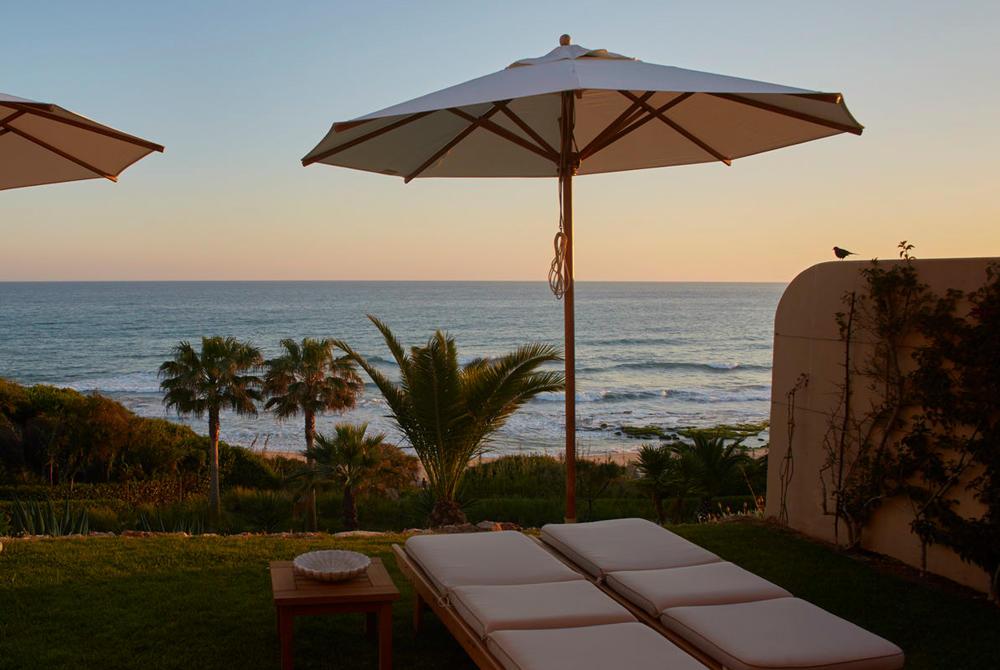 View from suite at Vila Joya, Algarve