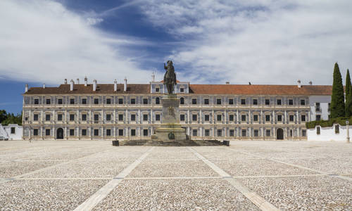 Vila Vicçsa Ducal Palace in Alentejo, Portugal