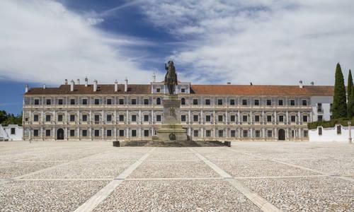 Vila Vicçsa Ducal Palace in Alentejo, Portugal
