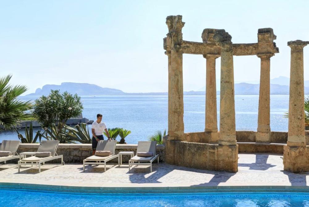 Pool at Rocco Forte Villa Igiea, Sicily