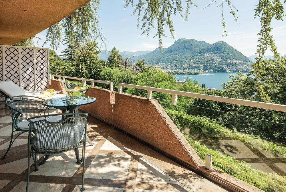Villa Principe Leopoldo Lake Suite View