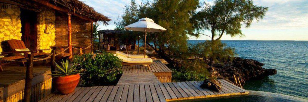 Deck View, Villa Quilalea